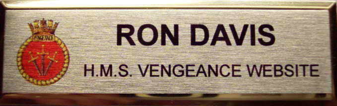 Name Badge (Plain Finish)